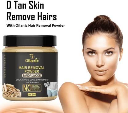 Oilanic Sandalwood Hair Removal Powder 100gm Wax