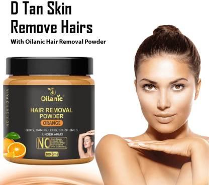 Oilanic Orange Hair Removal Powder 100gm Wax