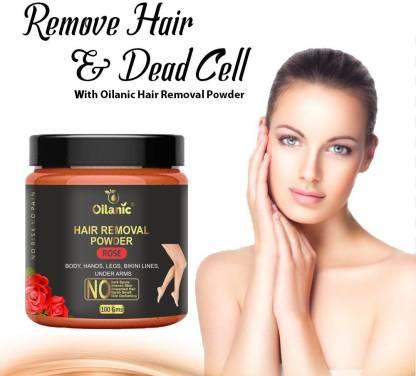 Oilanic Rose Hair Removal Powder 100gm Wax