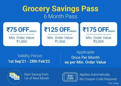 Grocery Savings Pass - 6 Months