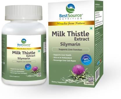 BestSource Nutrition Milk Thistle Extract Silymarin
