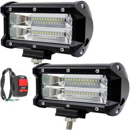 Dvis ARN 72 WATT Fog Lamp, Headlight Motorbike, Car, Truck, Van LED for Royal Enfield, Harley Davidson, Ducati, Bajaj, Yamaha, Mahindra, Range Rover, Toyota, Mitsubishi (12 V, 72 W)