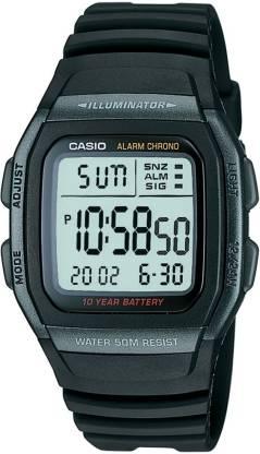 Casio D054 Youth Digital ( W-96H-1BVDF ) Digital Watch - For Men