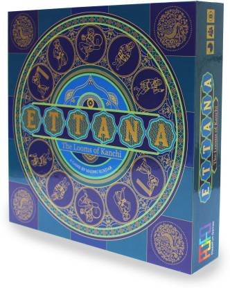 Mad4Fun Games Ettana - The Looms of Kanchi Educational Board Games Board Game