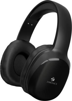 ZEBRONICS Zeb-Thunder PRO Wireless Bluetooth Headset(Black, On the Ear)