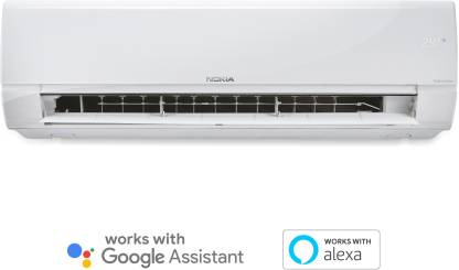 Nokia 4 in 1 Convertible Cooling 2 Ton 3 Star Split Triple Inverter Smart AC with Wi-fi Connect  - White