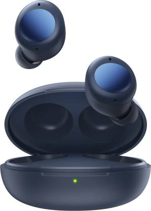 DIZO by realme TechLife GoPods Neo Bluetooth Headset (Deep Blue, True Wireless)