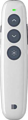 MAXBELL DSIT007 Rechargeable Wireless Laser Pointer Powerpoint Clicker Remote Control Pen RF 2.4GHz Presenter