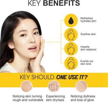 Oilanic Premium Honey Face Toner For Men & Women (100 ml) Men & Women