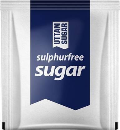 Uttam Sugar WHITE SUGAR SACHET 200 PCS Sugar (1 kg, Pack of 200) Sugar