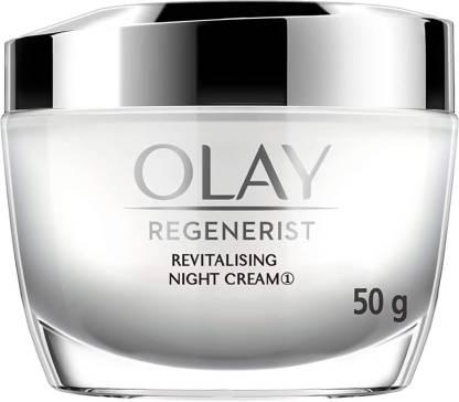 OLAY Night Cream: Regenerist Revitalising Night Moisturiser