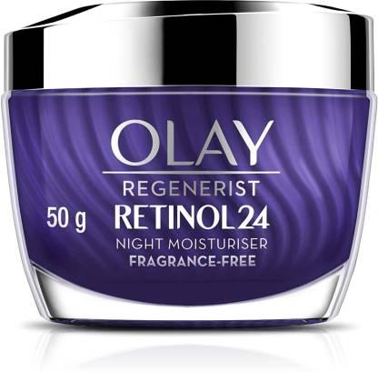OLAY Night Cream: Regenerist Retinol 24 Moisturiser, 50g