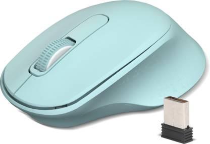 Zebronics Zeb-Ako Wireless Mouse, 2.4GHz (Green)