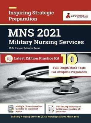 Military Nursing Services (MNS) 2021 10 Mock Test For Complete Preparation