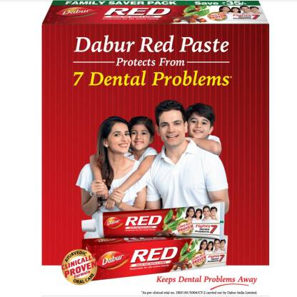 Dabur Red Toothpaste(1000, Pack of 2)