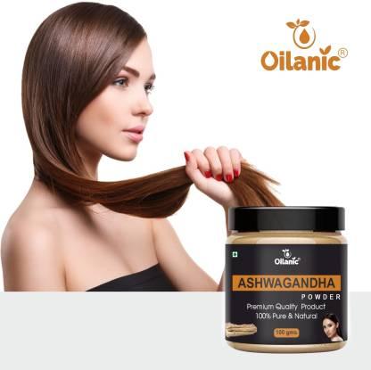 Oilanic 100% Pure & Natural Ashwagandha Powder- For Skin & Hair(100gm)