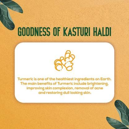 Oilanic 100% Pure & Natural Kasturi Haldi Powder- For Skin & Hair(100gm)