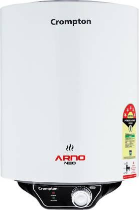 CROMPTON 6 L Storage Water Geyser (ASWH-3006, White)