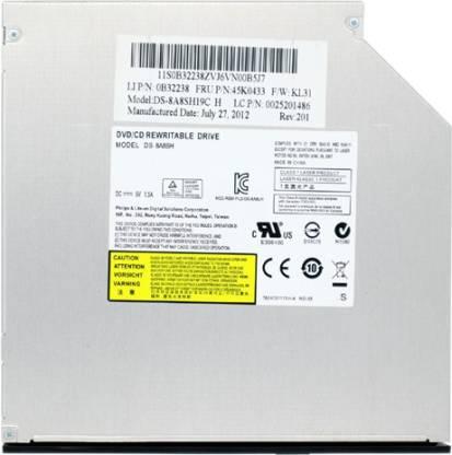 ARS INFOTECH Laptop Internal Slim 9.5MM DVD RW Writer SATA LAPTOP Internal Optical Drive