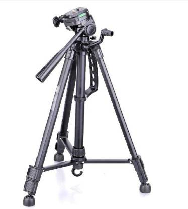 DINGLOT BEST BUY Tripod-3366 (Strong Aluminium Body) Light weight & Portable Aluminum Alloy Studio Light Stand   For Digital Videos   Portrait   Photography Lighting   Ideal For Outdoor & Indoor Shoots Tripod Tripod(Black, Supports Up to 5000 g)