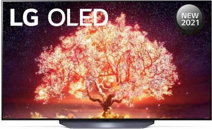 LG 139.7 cm (55 inch) OLED Ultra HD (4K) Smart TV(OLED55B1PTZ) 2021