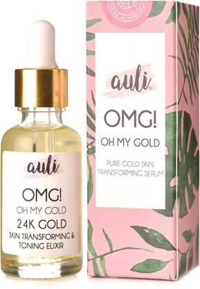 AULI LIFESTYLE Oh My Gold Face Serum   24K Gold Flakes has been Especially Designed to make all your Skin care Dreams come True