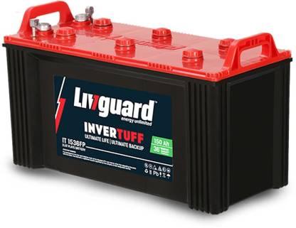 livguard Invertuff IT 1536FP 150AH Flat Plate Inverter Battery Flat Plate Inverter Battery