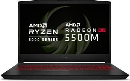 MSI Bravo Ryzen 5 Hexa Core 5600H - (8 GB/512 GB SSD/Windows 10 Home/4 GB Graphics/AMD Radeon RX5500M/144 Hz) Bravo 15 B5DD-043IN Gaming Laptop