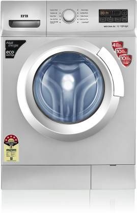 IFB 6 kg 5 Star Gentle Wash, Aqua Energie, Laundry Add, In-built heater Fully Automatic Front Load with In-built Heater Silver