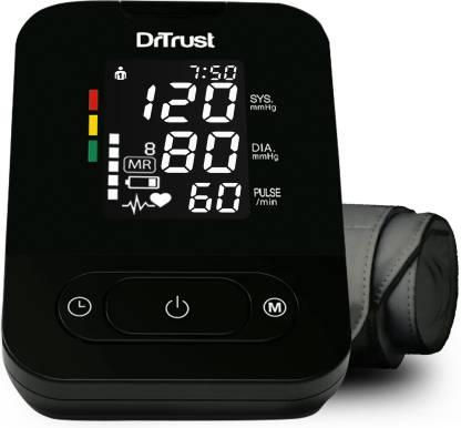 Dr. Trust (USA) SmartHeart BP Machine - Automatic digital TALKING Blood Pressure Testing Bp Monitor