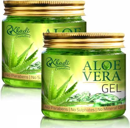 Khadi Cosmetics Pure Aloe Vera Gel(440 g)