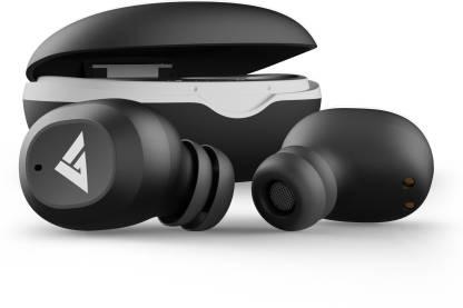 Boult Audio AirBass Combuds Bluetooth Headset(Black, True Wireless)