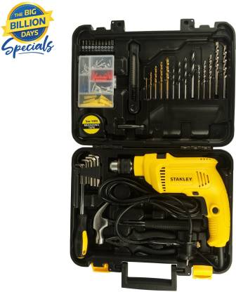 Stanley Power & Hand Tool Kit(120 Tools)