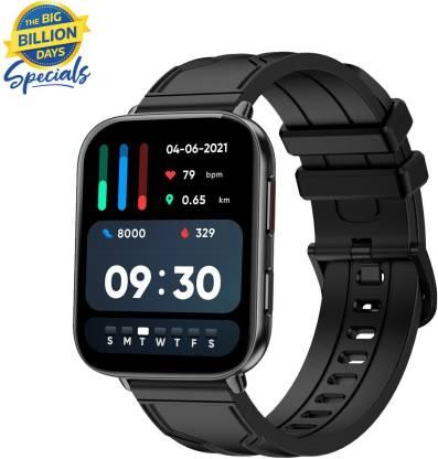 Fire-Boltt Max 1.78 inch AMOLED Smartwatch(Black Strap, Free Size)