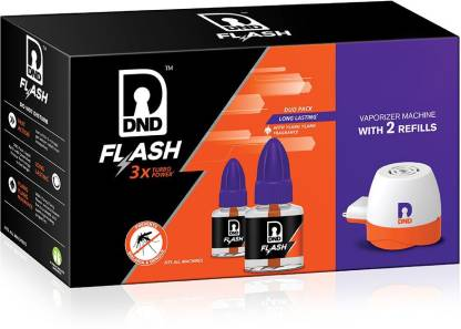 DND Flash 2R +1 M Mosquito Vaporiser(1 Unit 2 Refill)