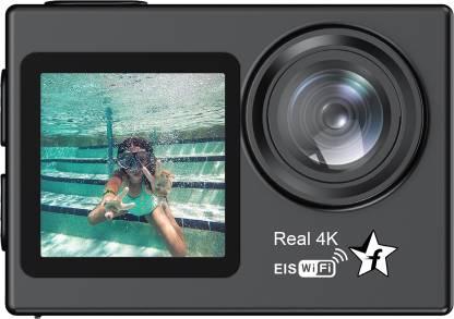 Flipkart SmartBuy D68AV Dual Screens Real 4K 16MP Wifi HDR Video Sports and Action Camera(Black, 16 MP)
