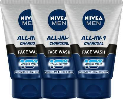 NIVEA Oil Control All In 1  100 ml - Pack of 3 Face Wash