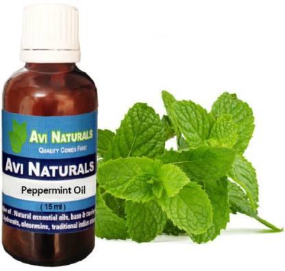 AVI NATURALS Peppermint Oil, 100% Pure, Natural & Undiluted