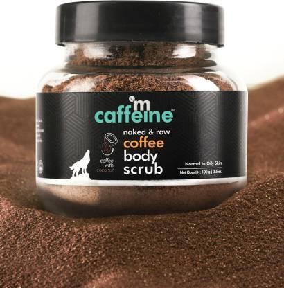 MCaffeine Coffee Body Scrub | Coconut | Tan Removal | Oily/Normal Skin | Paraben & SLS Free Scrub