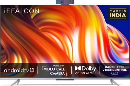 iFFALCON by TCL K72 139 cm (55 inch) Ultra HD (4K) LED Smart Android TV with Hands Free Voice Control and Works with Video Call Camera