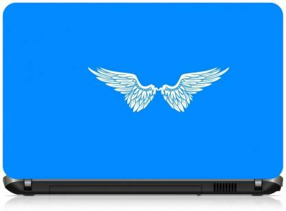 Box 18 Angle Wings 2126 Vinyl Laptop Decal 15.6