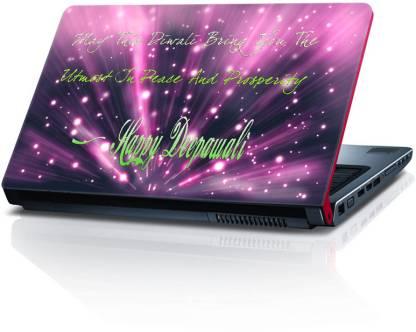 Shopkeeda Diwali SLS055570 Vinyl Laptop Decal 15.5