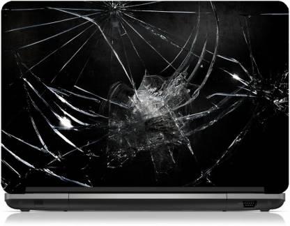 Box 18 Broken Glass104 Vinyl Laptop Decal 15.6