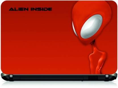 Box 18 Alien Inside522 Vinyl Laptop Decal 15.6