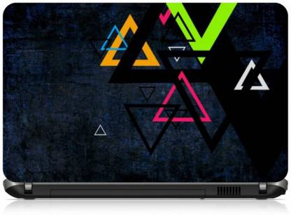 Box 18 Abstract Triangle 1847 Vinyl Laptop Decal 15.6