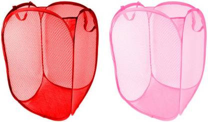 Lavelle Kitchen 15 L Red, Pink Laundry Bag