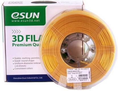 eSUN Gold PLA 1.75 mm (1 kg)- 3D Printing filament