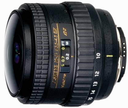 Tokina AF 10 - 17 mm f/3.5 - 4.5 AT-X 107 AF DX NH Fisheye for Nikon SLR  Lens