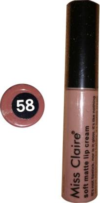Beauty Studio miss claire soft matte lip cream