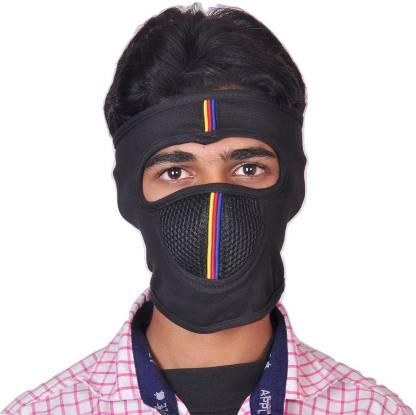 Paliwal Blue Bike Face Mask for Men & Women